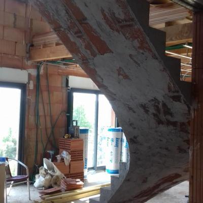 Escalier voûtes sarazines Lodève